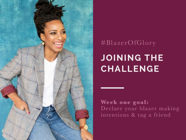 Blazer of Glory Sewing Challenge // Closet Case Patterns
