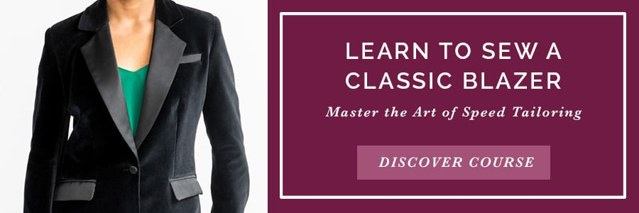 Learn to Sew A Classic Blazer // Modern Speed Tailoring Course from Closet Case Patterns