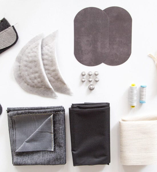 Supplies for tailoring a blazer // Closet Case Patterns