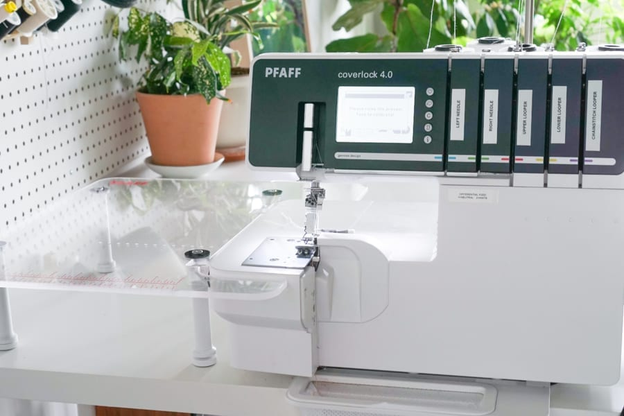 Our New Pfaff Sewing Machines - Pfaff Coverlock 4.0 |Closet Case Patterns