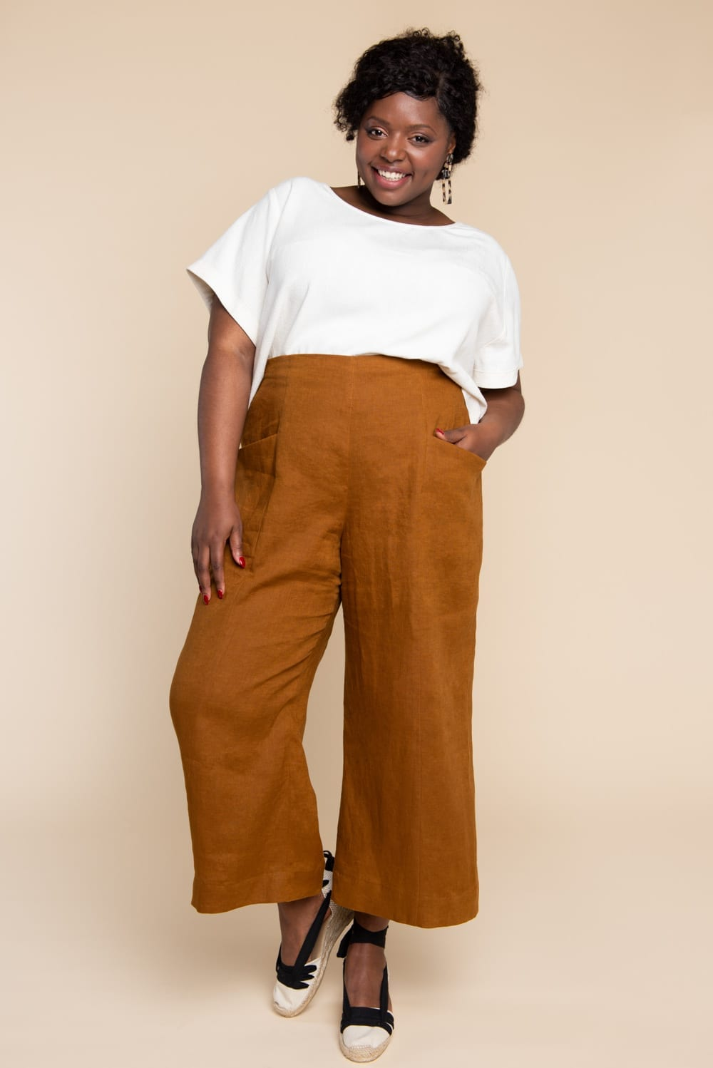 Pietra Pants & Shorts Pattern | Closet Case Patterns