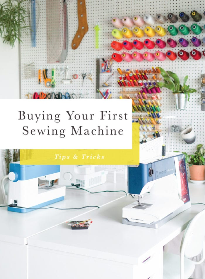 How to Buy Your First Sewing Machine // Tips from Closet Case Patterns