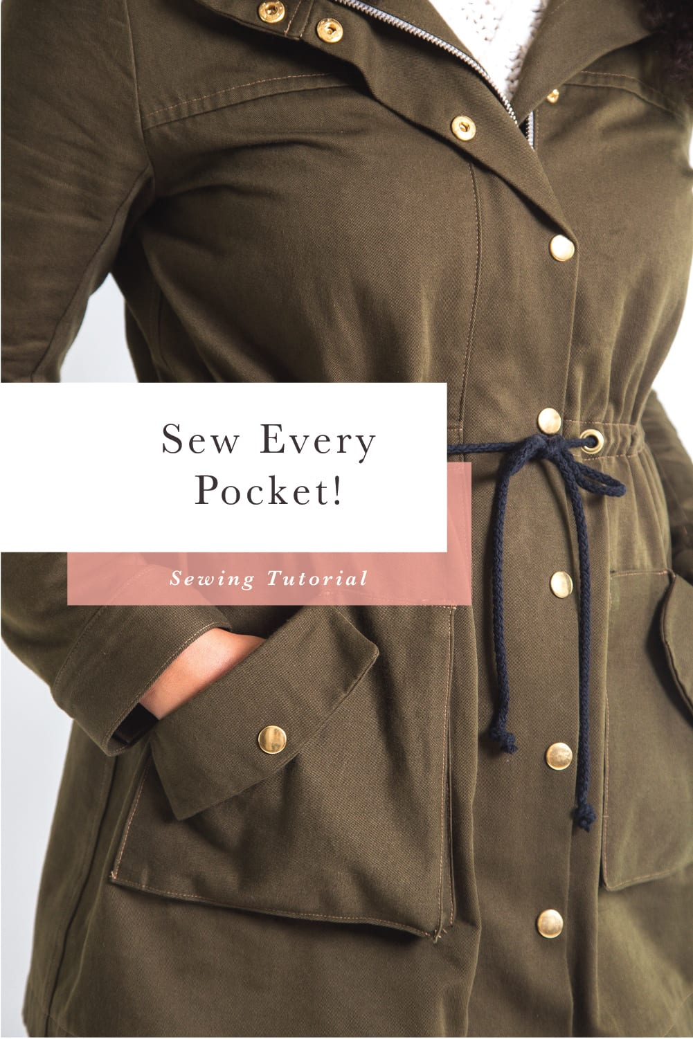 How to sew every kind of pocket // Closet Case Patterns