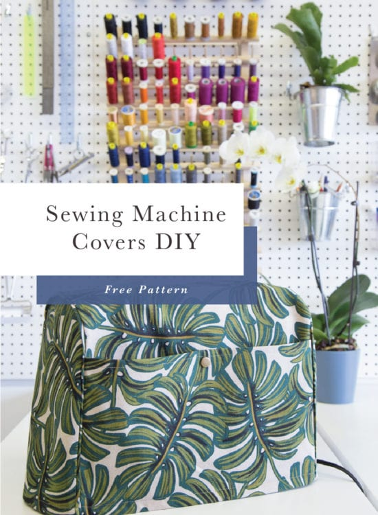 Free Sewing Pattern // Sewing Machine Cover & Serger Cover // Closet Case Patterns