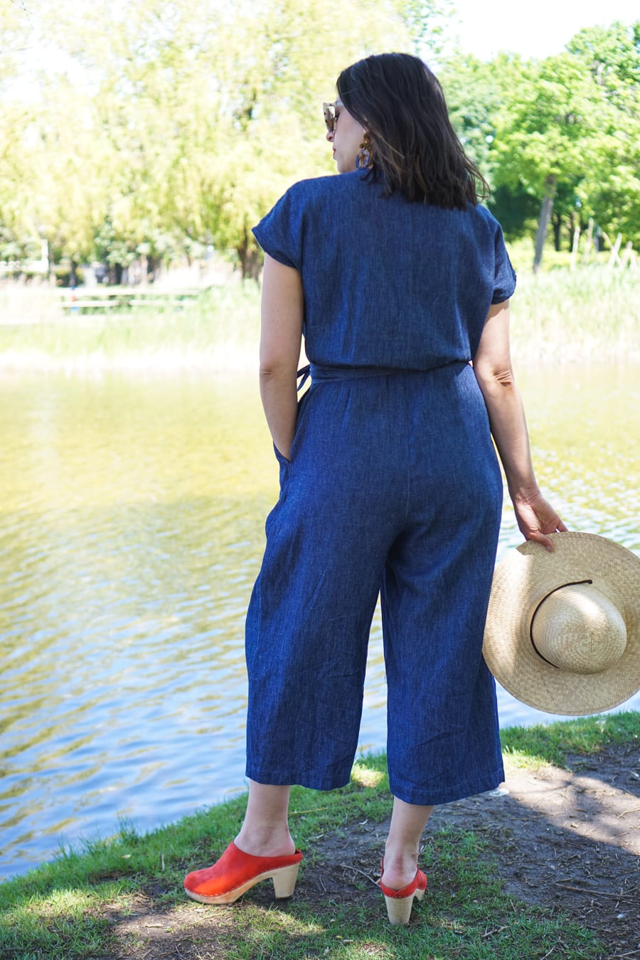 Zadie Jumpsuit by Paper Theory // Handmade by Closet Case Patterns