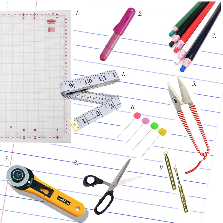 Beginner Books and Tools for Sewing // Closet Case Patterns