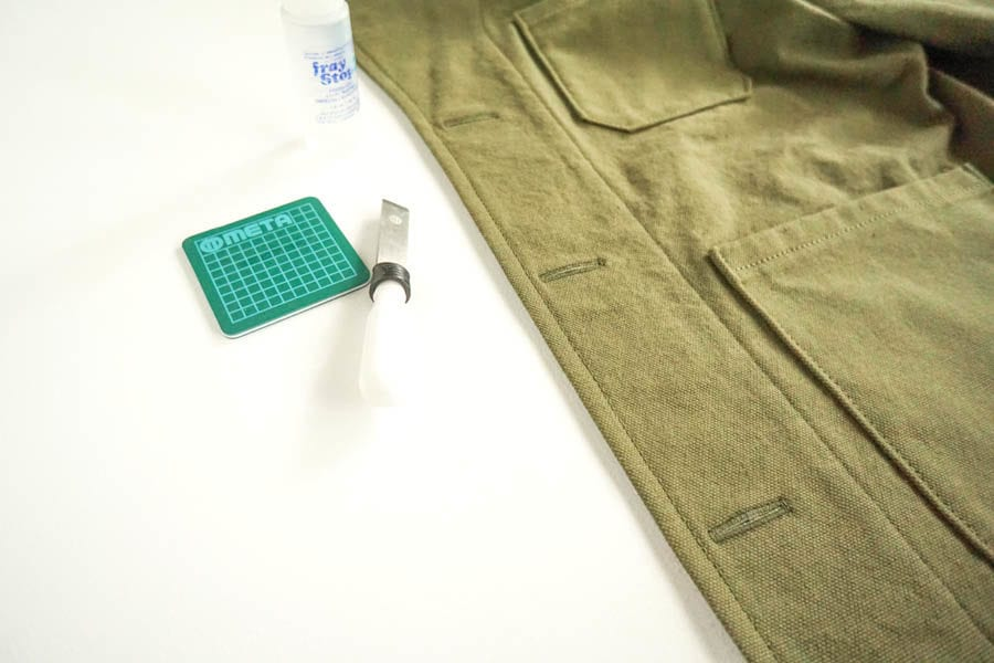 Sienna Maker Jacket Sewalong // How to sew buttonholes // Closet Case Patterns