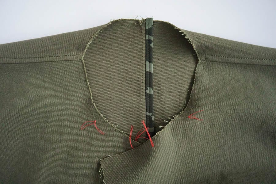 Sienna Maker Jacket Sewalong // Sewing Notched Collar with Jacket Lapel Facing // Closet Case Patterns
