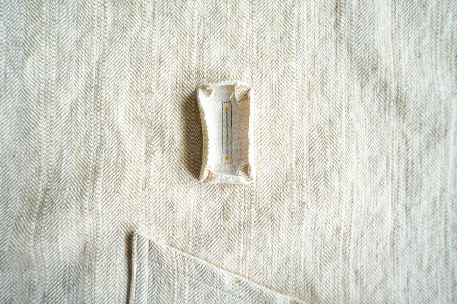 Sienna Maker Jacket Sewalong // Sewing Belt and Belt Vent Opening // Closet Case Patterns