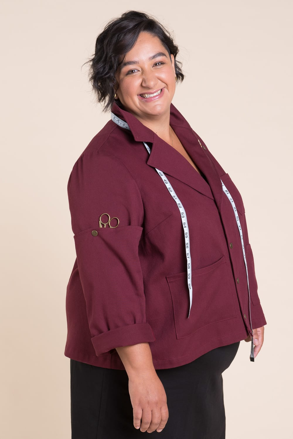 Sienna Maker Jacket // Sewing pattern by Closet Case Patterns