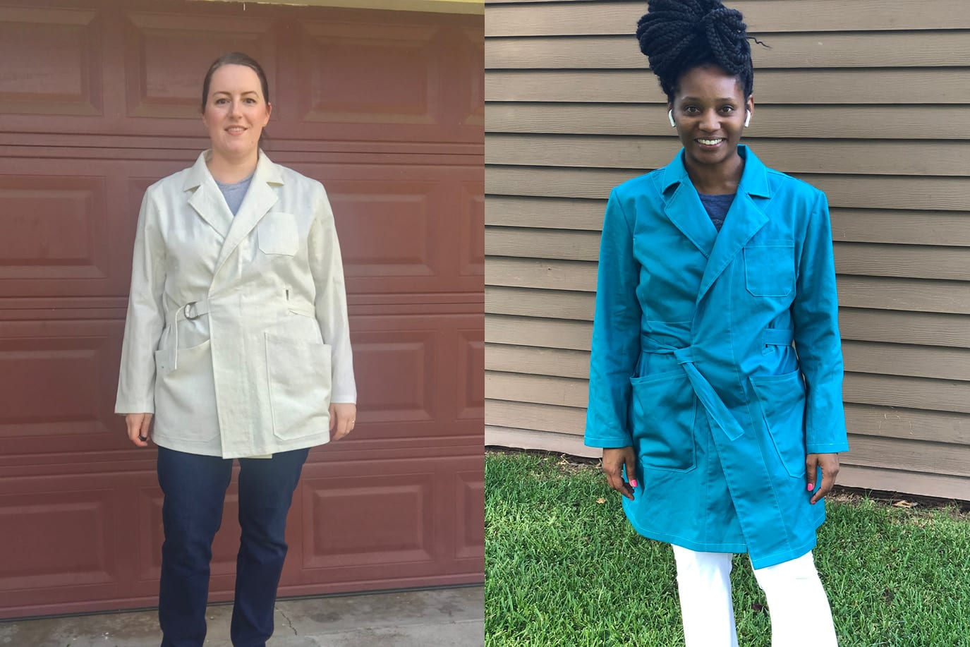 Sienna Maker Jacket Tester Round up // Closet Case Patterns