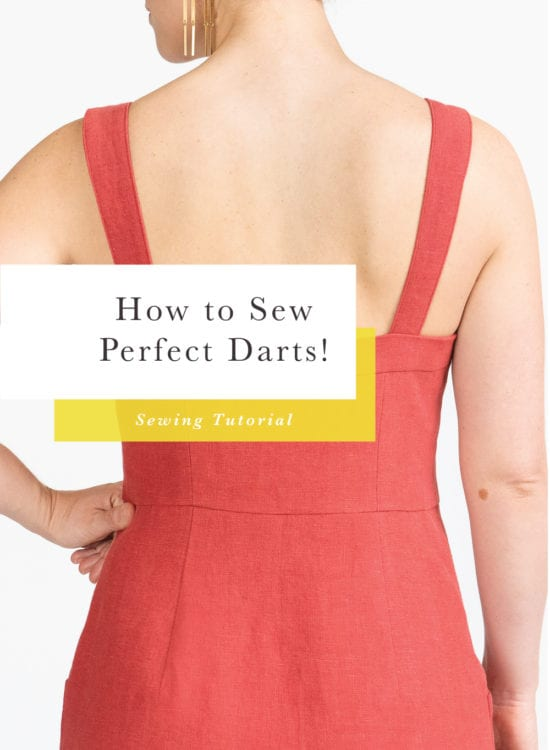 How to sew darts // Sewing Tutorial // Closet Case Patterns