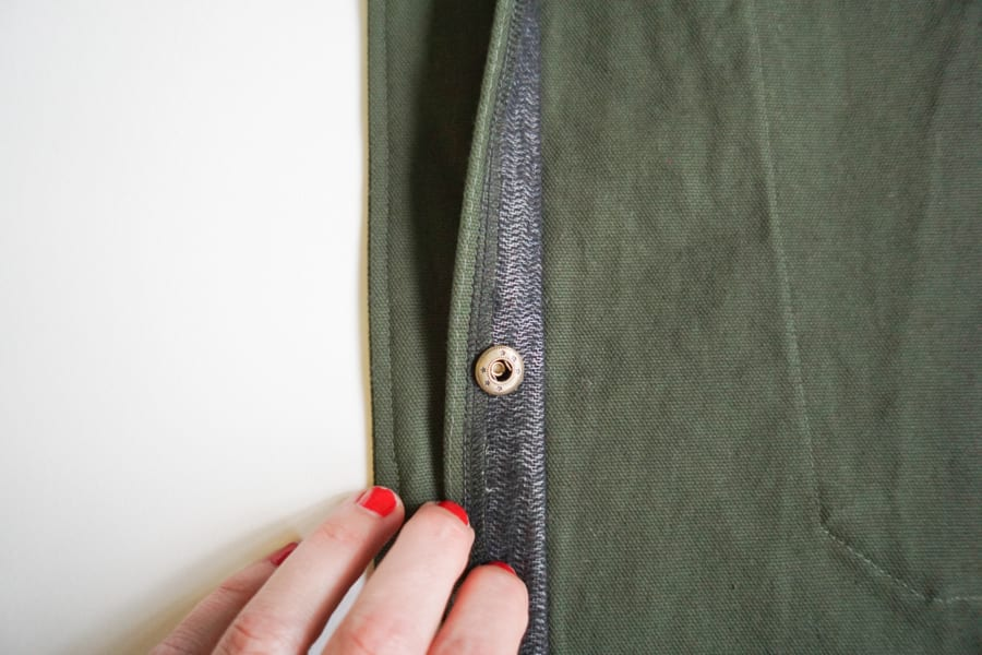 Lining the Sienna Maker Jacket // Closet Case Patterns