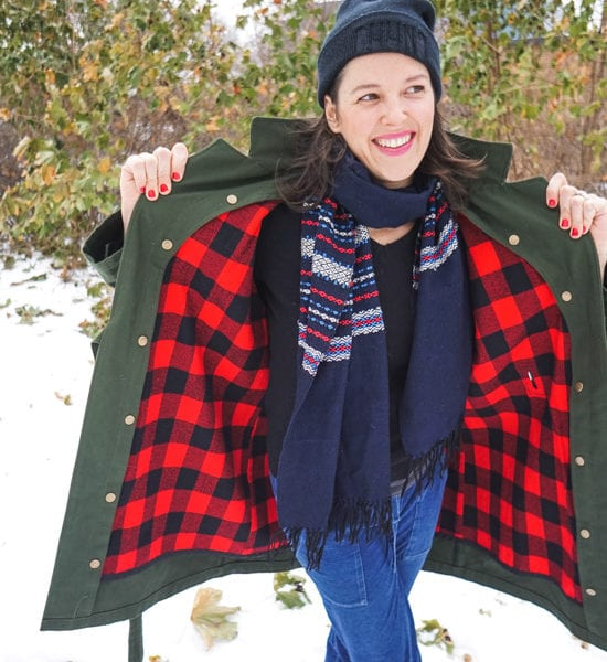 Sienna Maker Jacket with Removable Lining // Closet Case Patterns