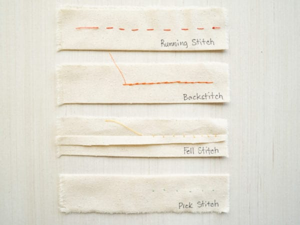 Permanent hand stitches - Couture seam finishes & Hand stitches // Tutorial by Closet Case Patterns
