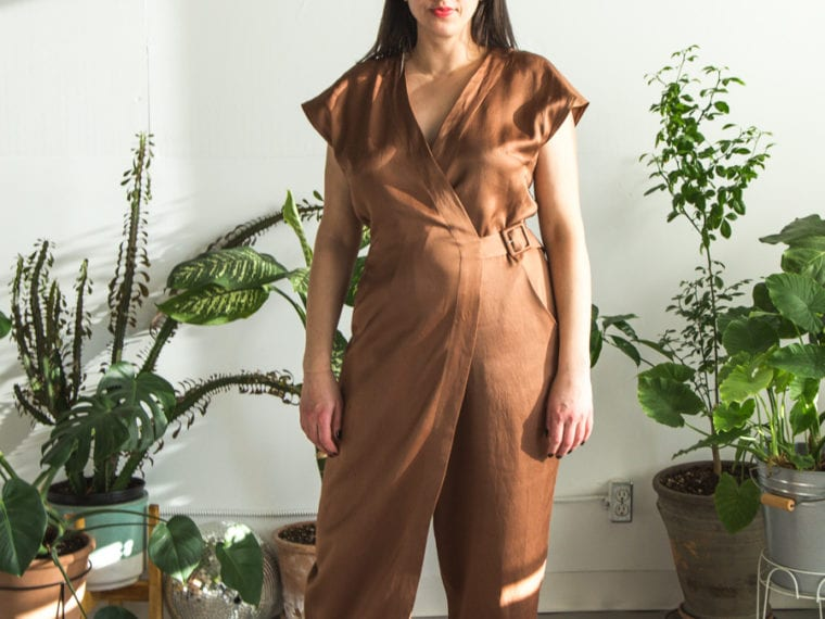 Rachel Comey DIY Jumpsuit // pattern Vogue 1546 // Handmade by Closet Case Patterns