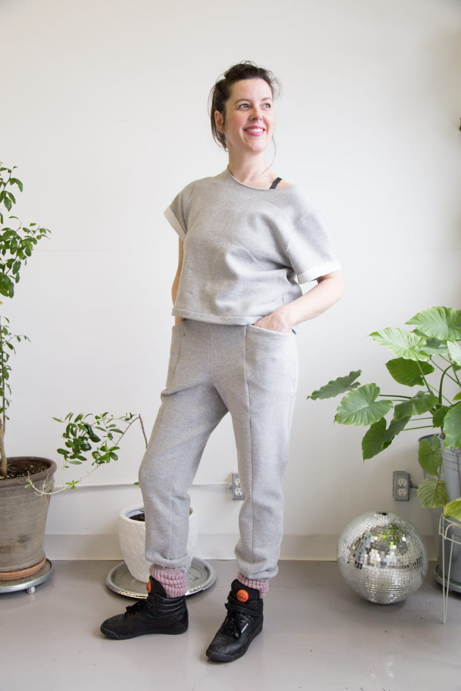 Sewing Cielo and Pietra in Knits // Closet Case Patterns