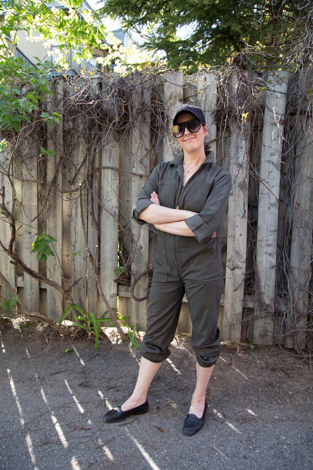 Amy's Blanca Flight Suit Hacked with Elastic // Closet Case Patterns