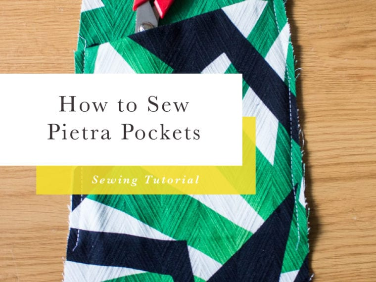 How to Sew the Pietra Pants and Shorts Pockets // Closet Case Patterns